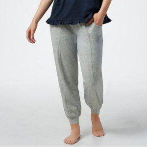 AnyBody Regular Cozy Knit Ruffle Jogger Pants 3929